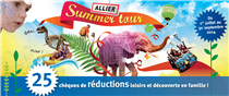 "Chéquier ""Allier Summer Tour 2014"""